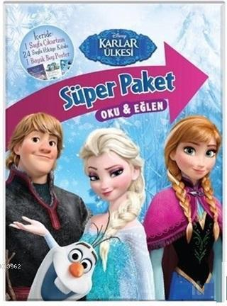 Disney Karlar Ülkesi Süper Paket Oku ve Eğlen Kolektif