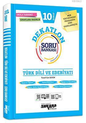 10.Sınıf Türk Dili ve Edebiyatı Dekatlon Soru Bankası