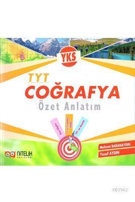 Nitelik Yayınları TYT Coğrafya Özet Anlatım Nitelik