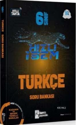 İsem 2021 6.Sınıf Hızlı İsem Türkçe Soru Bankası İsem Yayıncılık