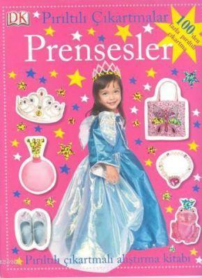 Pırıltılı Çıkartmalar Prensesler