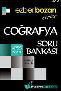 Ezberbozan Serisi Kpss Coğrafya Soru Bankası 2017