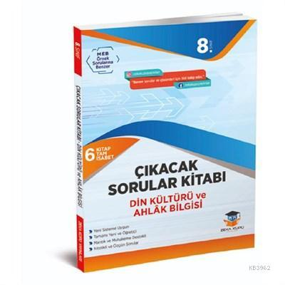 Zekaküpü - 8.Sınıf Din Kültürü Çıkacak Sorular Kitabı