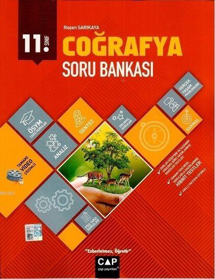 Çap Yayınları 11. Sınıf Coğrafya Soru Bankası Çap