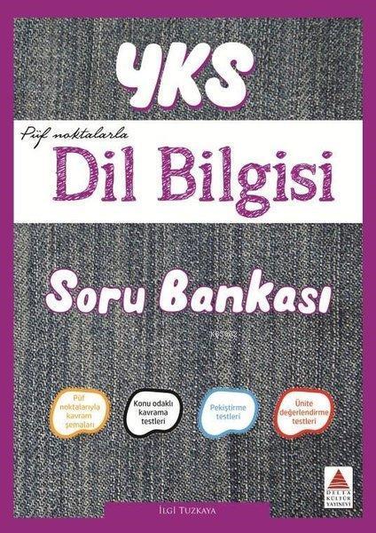 Delta Kültür Yayınları YKS Dil Bilgisi Soru Bankası Delta Kültür