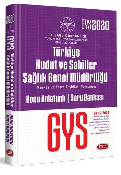 Data Yayınları GYS Türkiye Hudut ve Sahiller Sağlık Genel Müdürlüğü Konu Anlatımlı Soru Bankası
