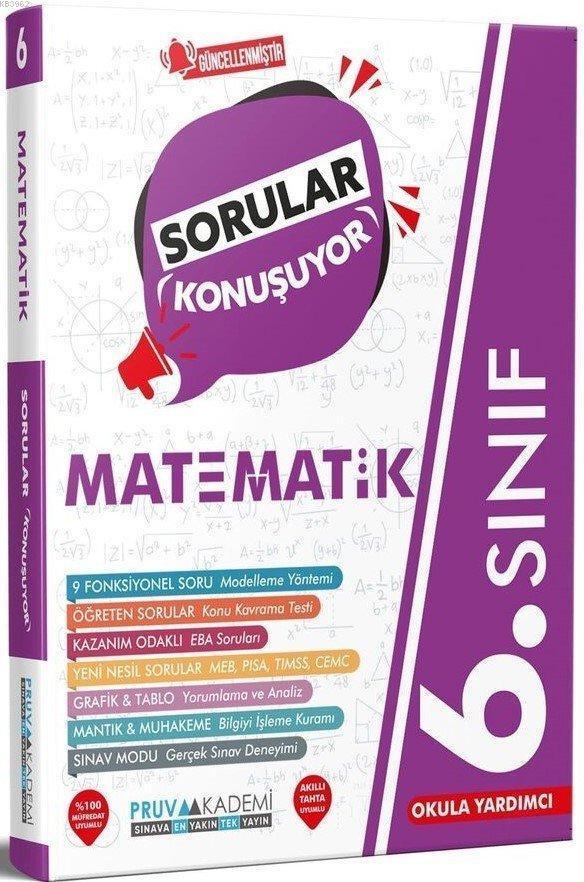 Pruva 6.Sınıf Matematik Sorular Konuşuyor 2021