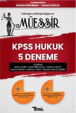 Müessir Kpps Hukuk 5 Deneme