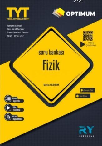 Referans Optimum TYT Fizik Soru Bankası Video Çözümlü 2021
