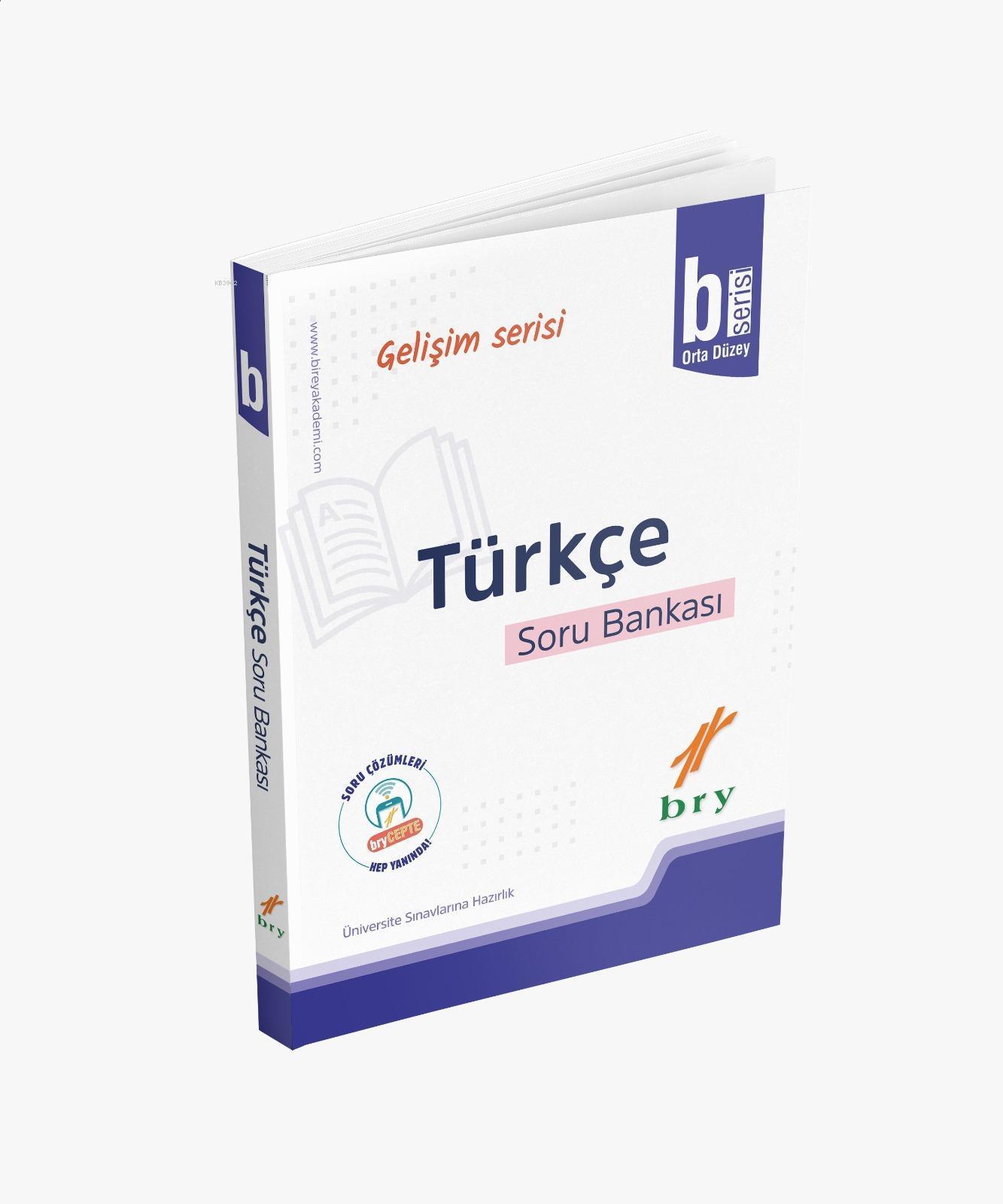 BRY Gelişim Serisi - Türkçe Soru Bankası B