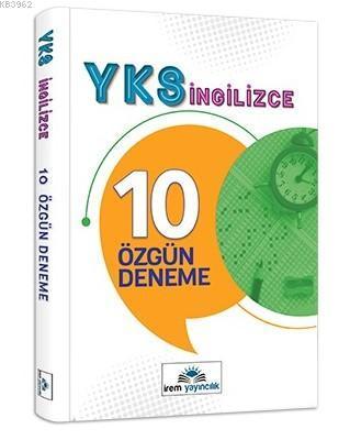 12.Sınıf YKS İngilizce 10 Özgün Deneme