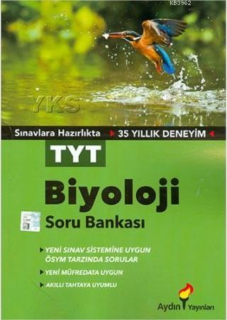 Aydın Yayınları TYT Biyoloji Soru Bankası Aydın