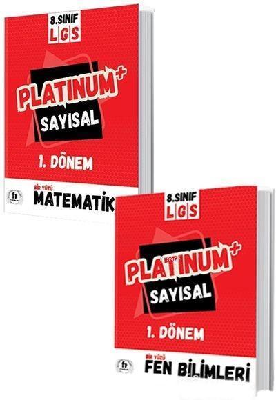 Fi Yayınları 8. Sınıf 1. Dönem LGS Platinum Sayısal Soru Bankası Fi