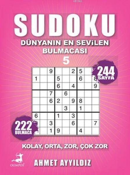 Sudoku 5; Dünyanın En Sevilen Bulmacası - 5