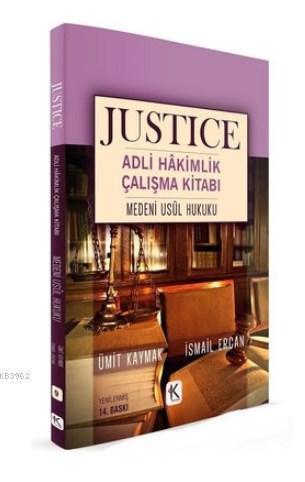 Medeni Usul Hukuku - Justice Adli Hakimlik Çalışma Kitabı