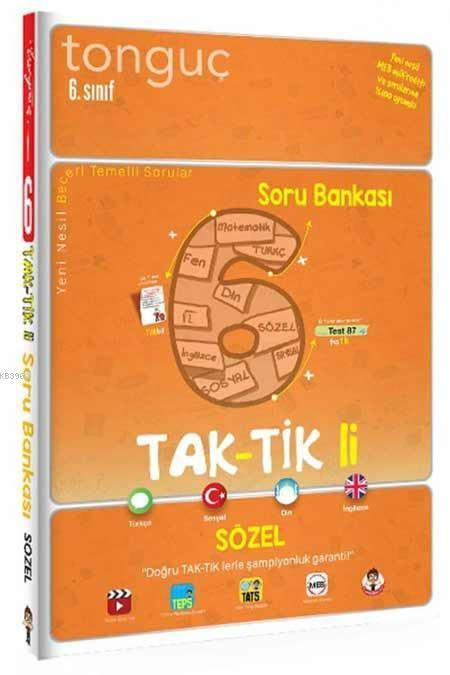 Tonguç Akademi 6.Sınıf Sözel Taktikli Soru Bankası