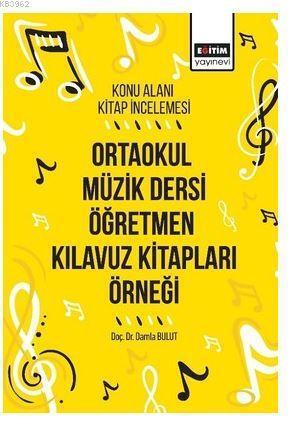 Ortaokul Müzik Dersi Öğretmen Kılavuz Kitapları Örneği