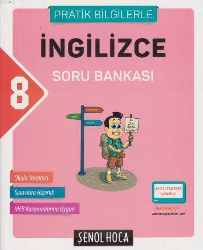 8. Sınıf T.C. İngilizce Soru Bankası (Pratik Bilgilerle)