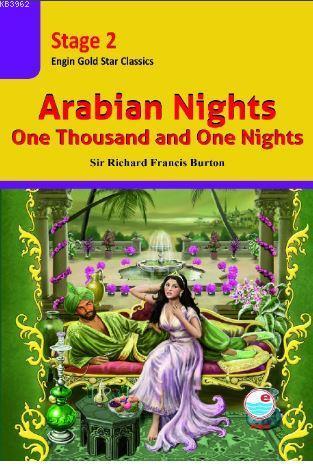 Arabian Nights CD'li (Stage 2 ); İngilizce seviyeli hikaye kitabı. Stage 2