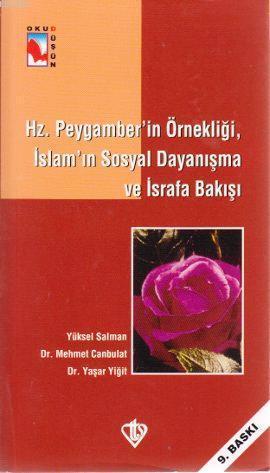 Hz. Peygamber'in Örnekliği, İslam'ın Sosyal Dayanışma ve İsrafa Bakışı