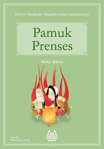 Pamuk Prenses; Gökkuşağı Renkli Resimli Seri