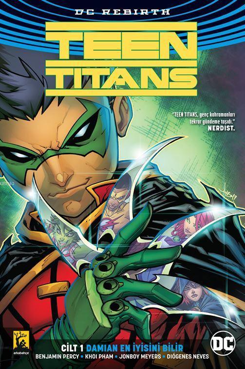 Teen Titans 1 - Damian En İyisini Bilir.