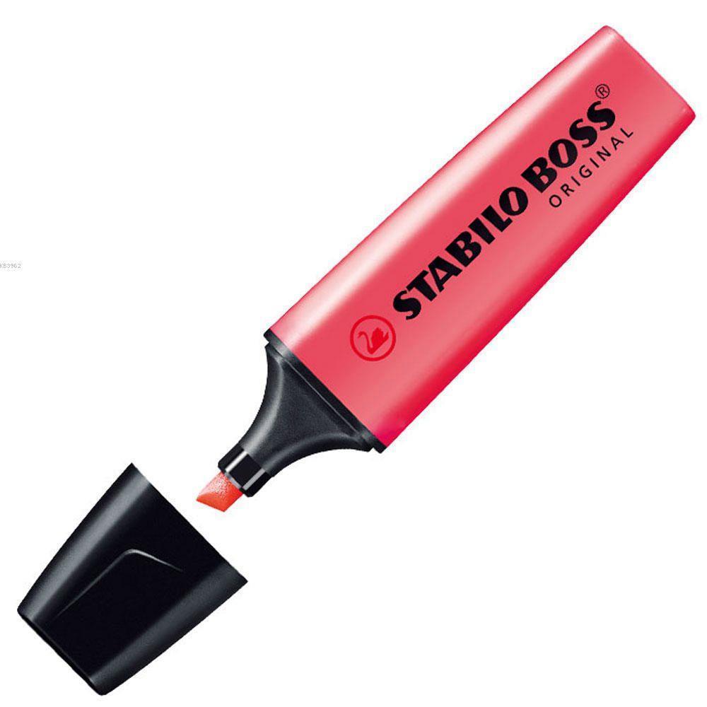 Stabilo Boss Fosforlu Kalem Kırmızı 70/40