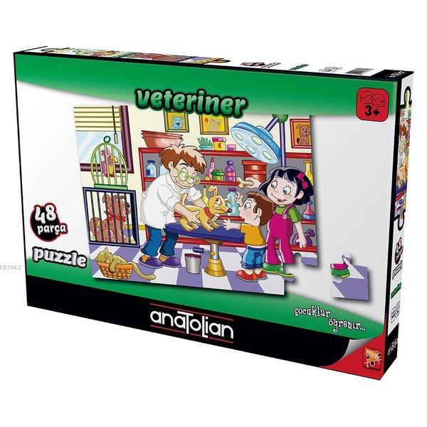 Anatolian Puzzle 48 Parça Veteriner