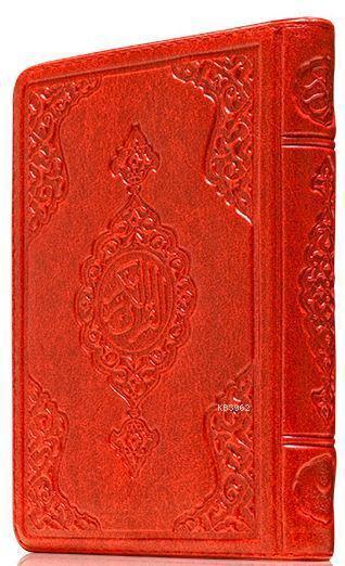 Çanta Boy Kur'an-ı Kerim (Kırmızı Renk, Kılıflı, Mühürlü)