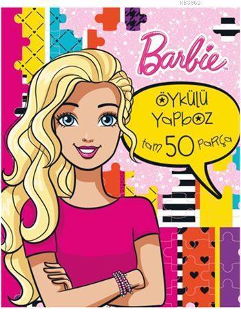 Barbie Öykülü Yapboz Kitabım (50 Parça, 3+ Yaş)
