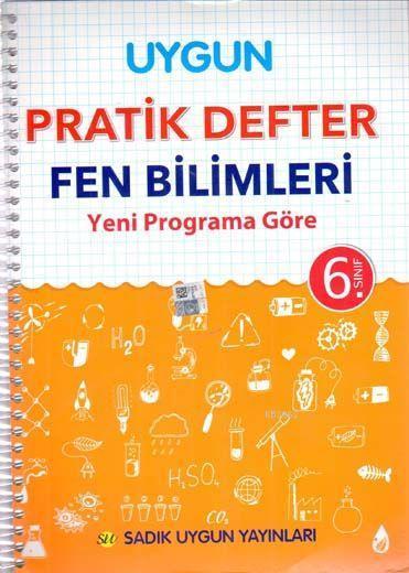 Sadık Uygun Yayınları 6. Sınıf Fen Bilimleri Pratik Defter Sadık Uygun