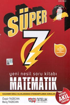 Nitelik Yayınları 7. Sınıf Matematik Süper Yeni Nesil Soru Kitabı Nitelik