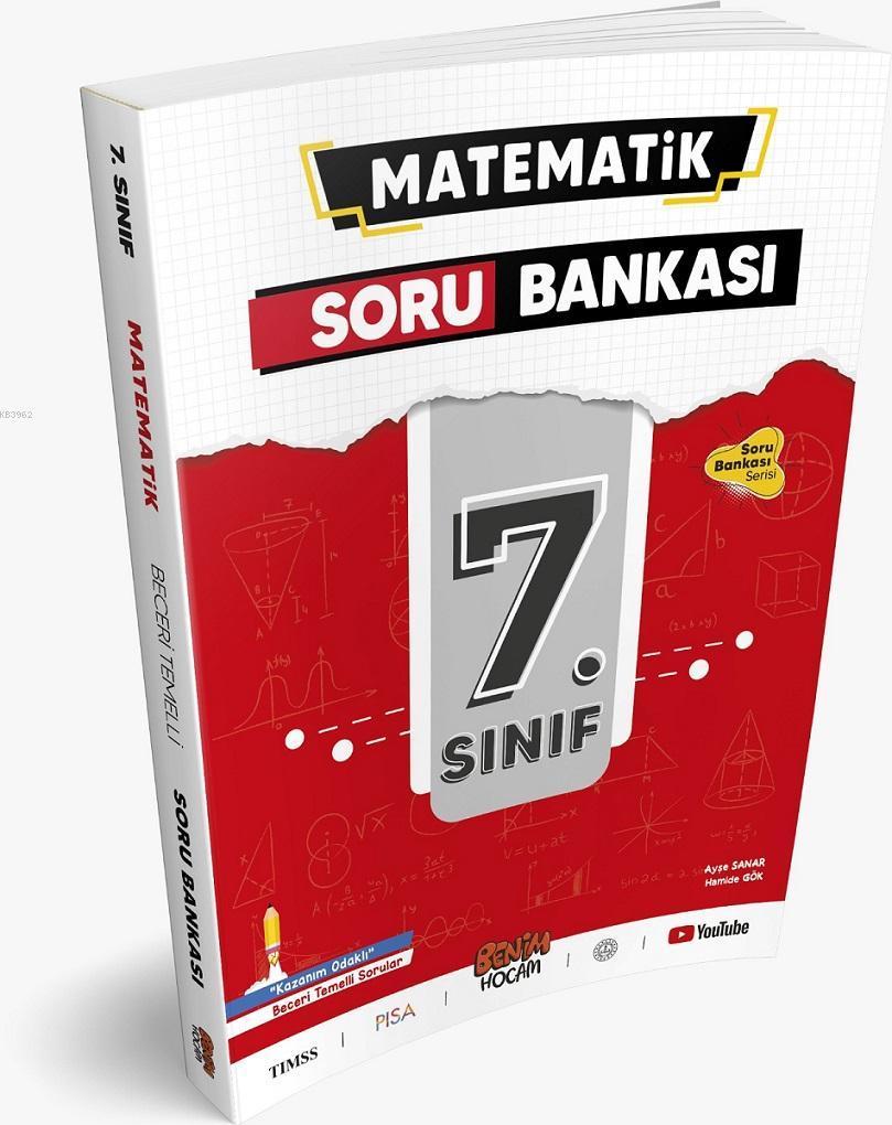 7. Sınıf Matematik Soru Bankası Benim Hocam Yayınları