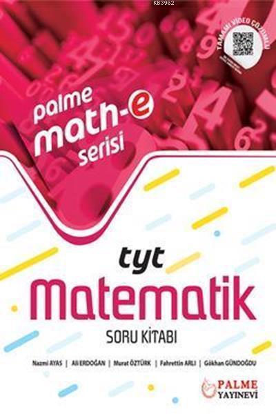 TYT Matematik Soru Kitabı Palme Mathe Serisi Palme Yayınları