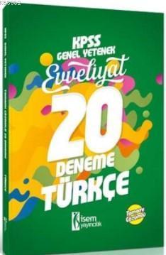 018 KPSS Evveliyat Türkçe Tamamı Çözümlü 20 Deneme