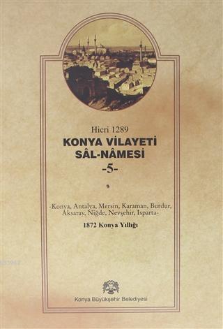 Konya Vilayeti Sal-Namesi - 5