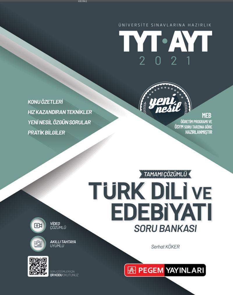 TYT-AYT Tamamı Çözümlü Edebiyat Soru Bankası