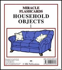 Miracle Flashcards - Household Objects 1