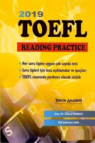 2019 TOEFL Reading Practice