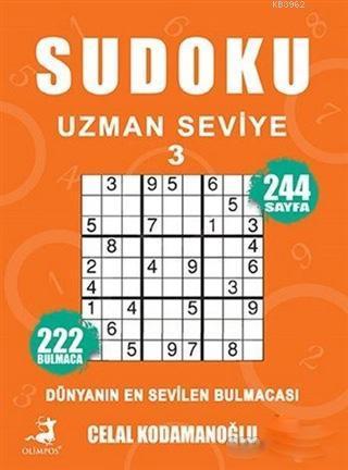 Sudoku Uzman Seviye 3; Dünyanın En Sevilen Bulmacası