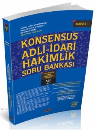 Konsensus Adli İdari Hakimlik Ceza Hukuku CMK Soru Bankası