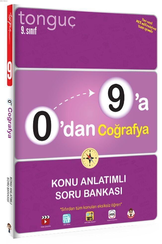 Tonguç Yayınları 9. Sınıf 0 dan 9 a Coğrafya Konu Anlatımlı Soru Bankası Tonguç