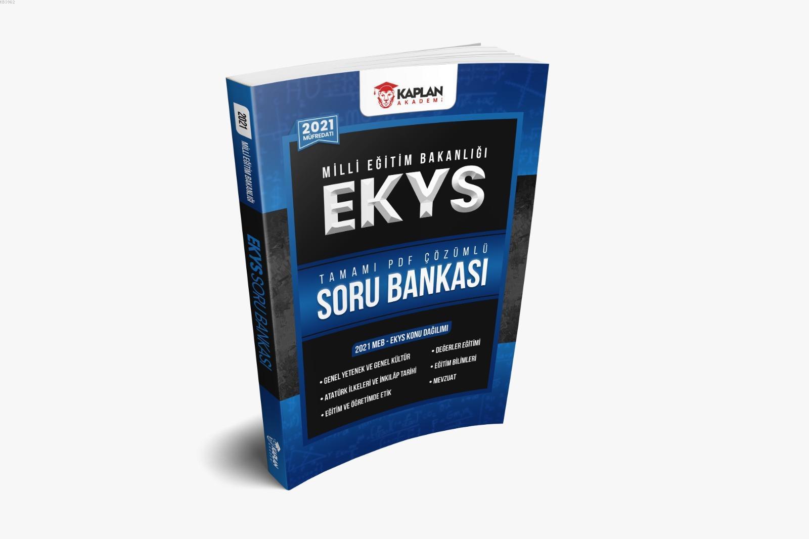 2021 MEB EKYS (Müdür-Müdür Yardımcılığı) Tamamı PDF Çözümlü Soru Bankası