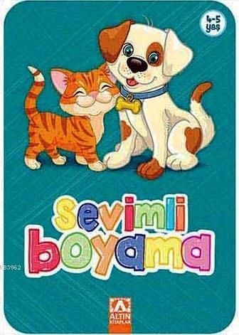 Sevimli Boyama (Turkuaz); 4+ Yaş