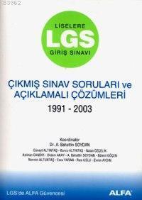 Lgs Çıkmış Sınav Soruları 1991-2004