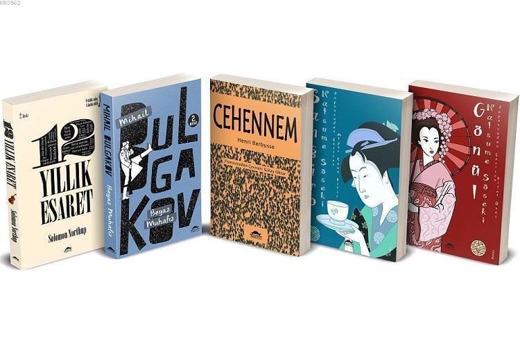 Klasik Edebiyat Seti 2 - 5 Kitap Takım