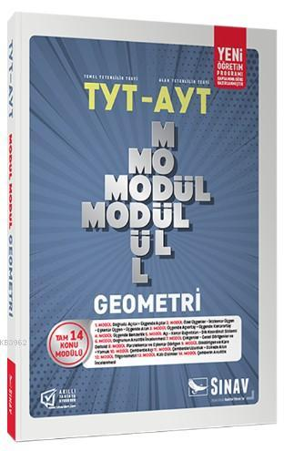 Sınav Dergisi Yayınları TYT AYT Geometri Modül Modül Konu Anlatımlı Sınav Dergisi