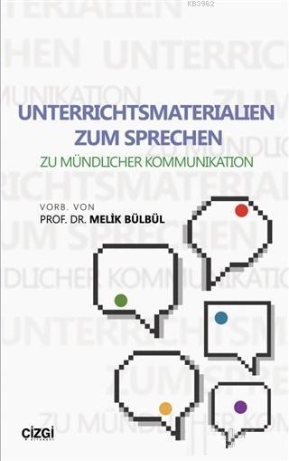 Unterrichtsmaterialien Zum Sprechen; Zu Mündlicher Kommunikation