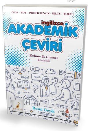 İngilizce Akademik Çeviri Kelime ve Gramer Destekli