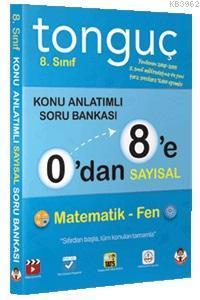 0'dan 8'e Sayısal Konu Anlatımlı Soru Bankası; Matematik, Fen Bilimleri